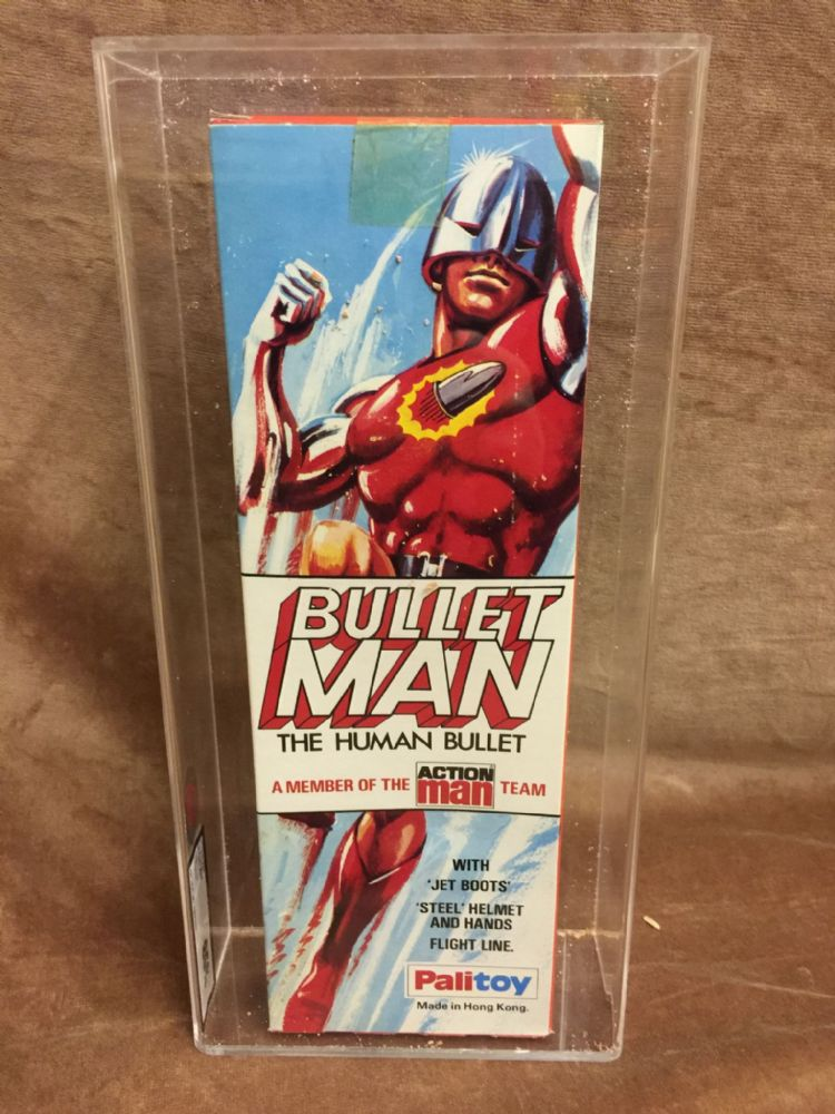 ACTION MAN - BULLET MAN - BOXED ULTRA RARE STILL SEALED ...